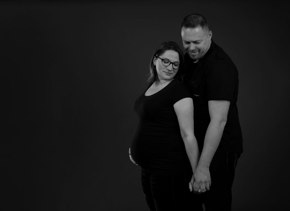 séance photo femme enceinte en studio