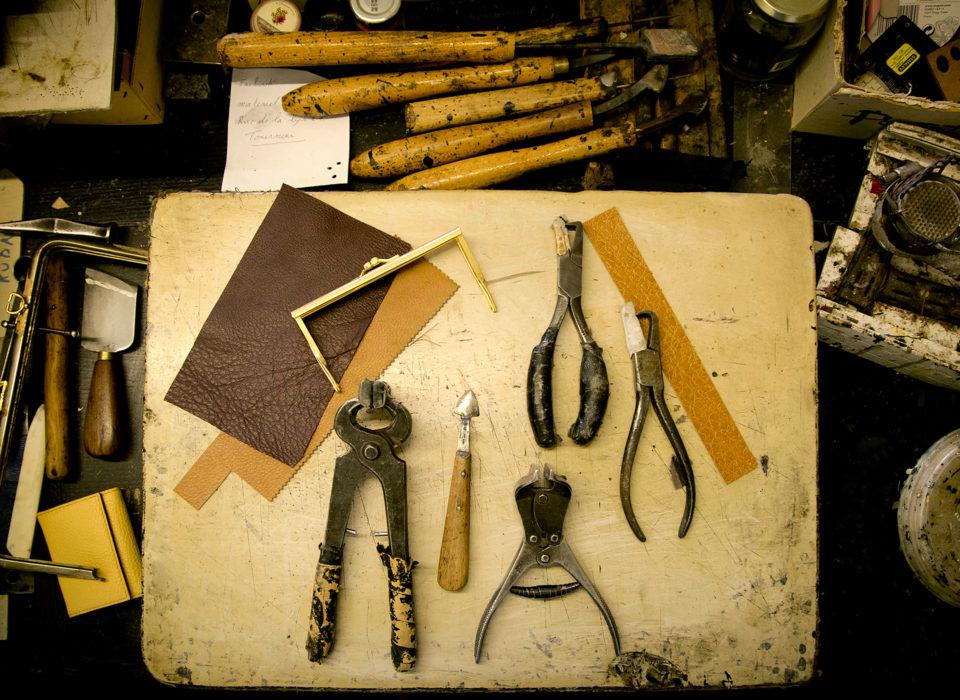 outils du maroquinier
