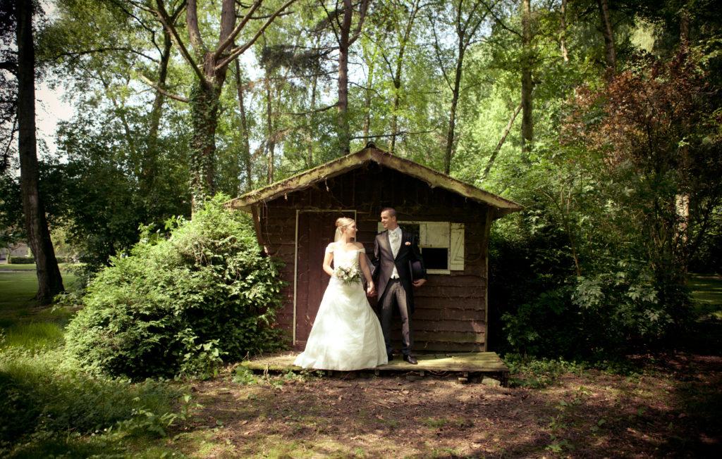 la composition photo lors des photos  de couple en  mariage