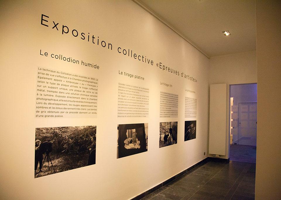 exposition collective au Domaine de graux