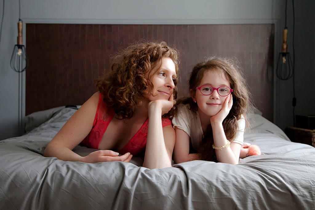 séance photo famille lifestyle à domicile