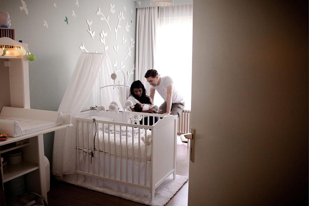 séance photo bébé lifestyle à domicile
