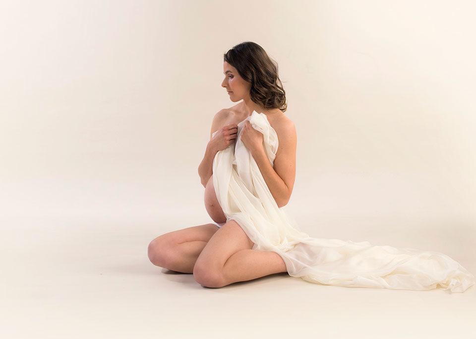 séance photo maternité en studio