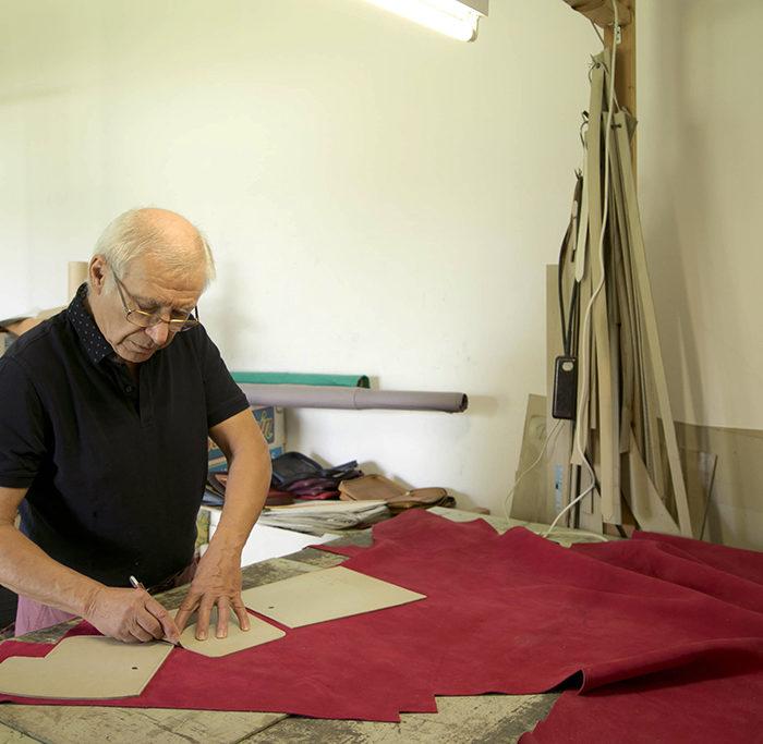 Reportage artisan maroquinier - Mr Liévin