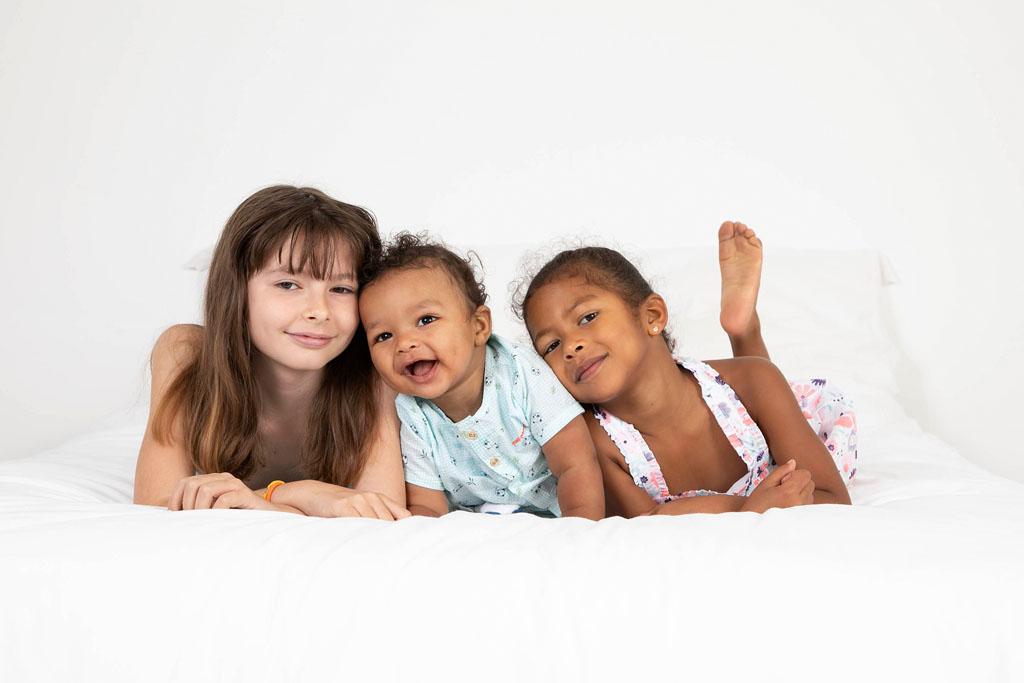 Séance photo de famille en studio - Photographe Tournai
