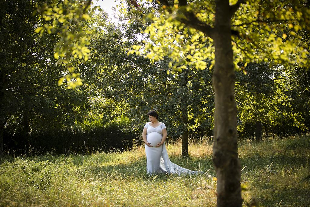 Séance photo grossesse à Tournai - photographe Hainaut